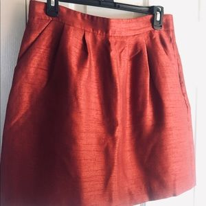 Silk H&M skirt size 8 New
